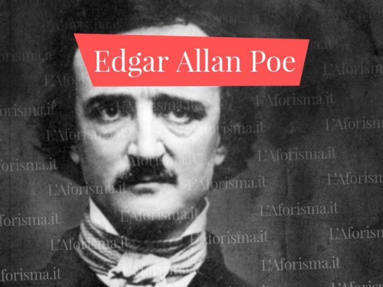 Le più belle <strong>Frasi di Edgar Allan Poe</strong> –<em>Raccolta Completa</em>