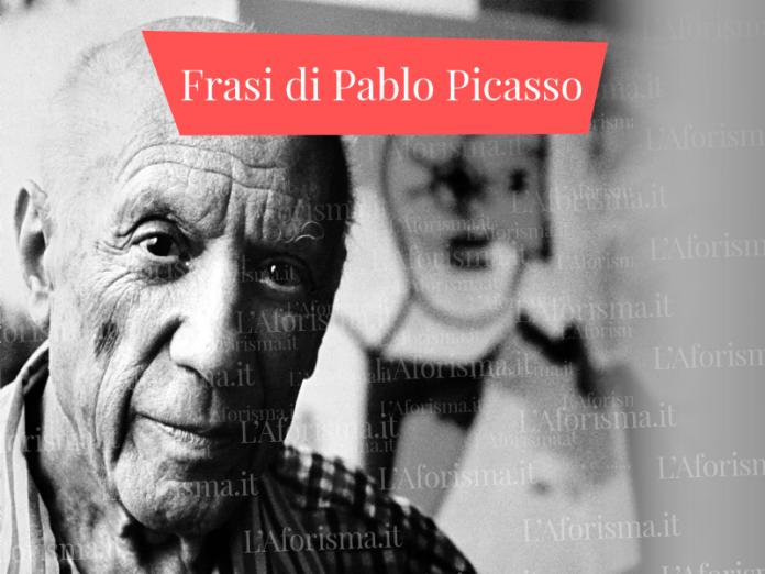Frasi di Pablo Picasso