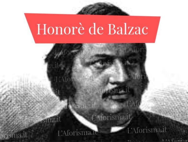 Le più belle <strong>frasi, aforismi e citazioni di Honorè de Balzac</strong> – <em>Raccolta completa</em>