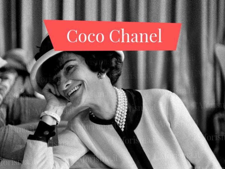 Le più belle <strong>frasi, aforismi e  citazioni di Coco Chanel</strong> <em>Raccolta completa</em>