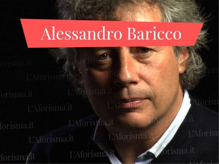 <strong>Aforismi, citazioni e frasi di Alessandro Baricco</strong> – <em>Raccolta completa</em>