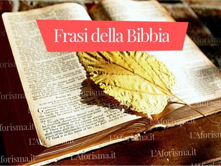 Le più belle <strong>Frasi della Bibbia</strong> <em>Raccolta Completa</em>