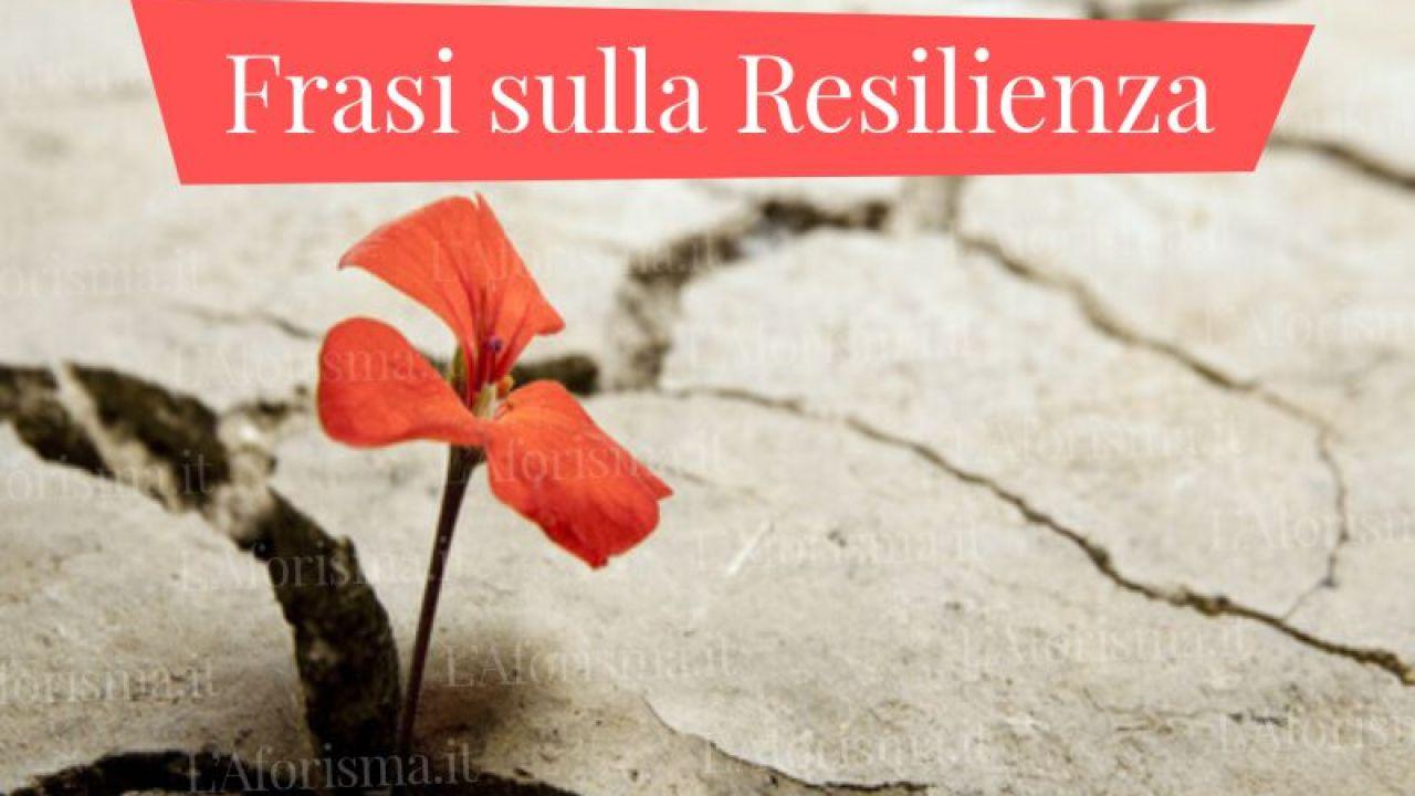 Le Piu Belle Frasi Aforismi E Citazioni Sulla Resilienza