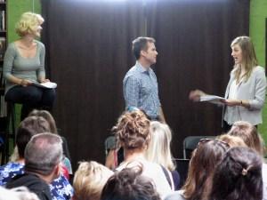 Michal Sinnot Josh Ballinger + Whitney Ullom in The Stiff by Kathryn Graf - photo by LA FPI