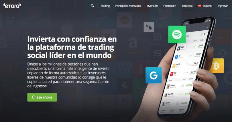 app para invertir etoro