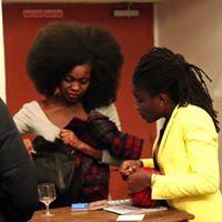Laetitia Ngoto, la créatrice du festival Art'Press Yourself est venue nous saluer