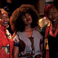La team Afrikanista venue vendre ses belles créa customisées a shiné pendant toute l'événement