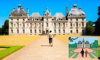 Castillo de Cheverny, utilizado como referencia por Hergé para el castillo de Moulinsart, de Tintín