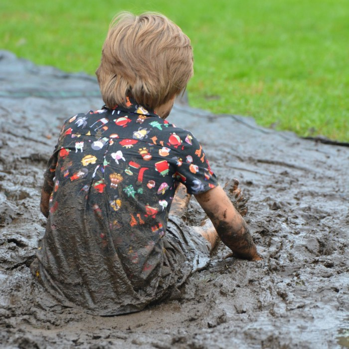 sand people play boy spring dirt mud soil child material toddler filthy human positions