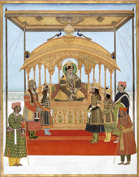 File:Ghulam Murtaza Khan The Delhi Darbar of Akbar II.jpg