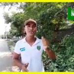(EN VIDEO) JAIME OROZCO ENCABEZA JORNADA DE LIMPIEZA EN EL SECTOR DE COSTA VERDE.