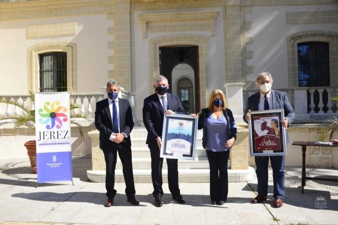 Carteles Cádiz CF y Jerez de la Frontera