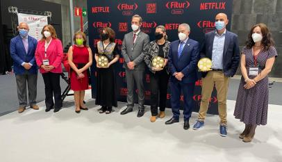 Isabel Gallardo entrega premios Spain Film Comission Fitur_1 Jerez Film Office