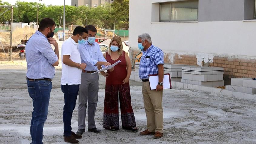 Foto: Ayuntamiento de Jerez/ Mamen Sánchez en la nueva Jeatura de Policía