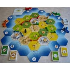 colonos-catan-tablero