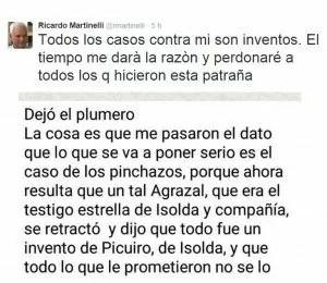 Martinelli Caso Pinchazos