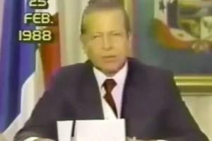 Gobierno declara día de Duelo Nacional por deceso del ex presidente Del Valle