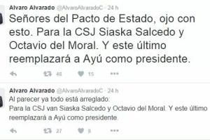 Siaska Saucedo y Octavio del Moral, posibles ungidos de Varela