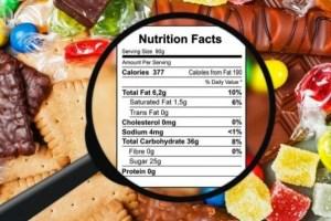 Proponen que todos los productos contengan etiquetas con información nutricional