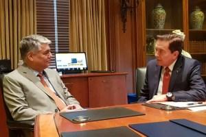 Cortizo busca oportunidades para estudiantes panameños en Texas