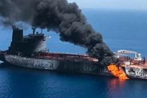 Ataques a dos petroleros en Golfo Pérsico
