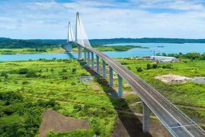 Inauguran tercer puente sobre el Canal de Panamá, el puente de concreto más largo del mundo