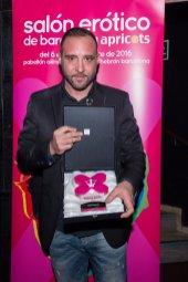 Pablo Ferrari en los Premios Ninfa 2016