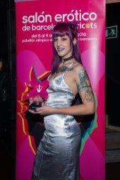 Lilyan Red en los Premios Ninfa 2016