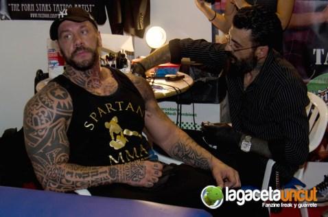 Rob Diesel en el Salón Erótico de Barcelona 2015