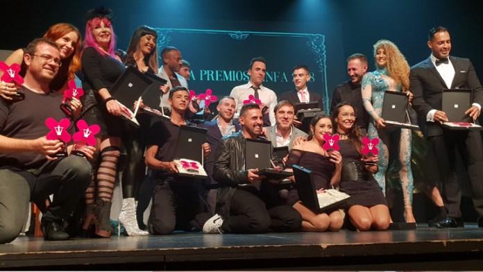 Ganadores Premios Ninfa 2018
