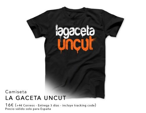 Camiseta La Gaceta Uncut