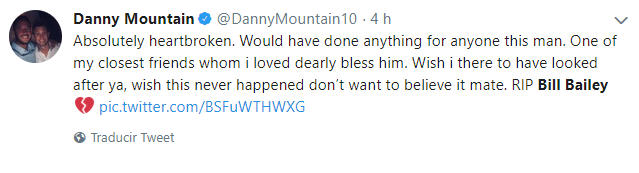 Danny Mountain tweet