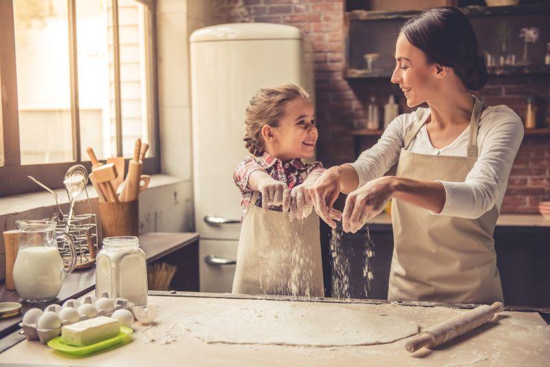 Ωρα για μαγειρική με τα παιδιά