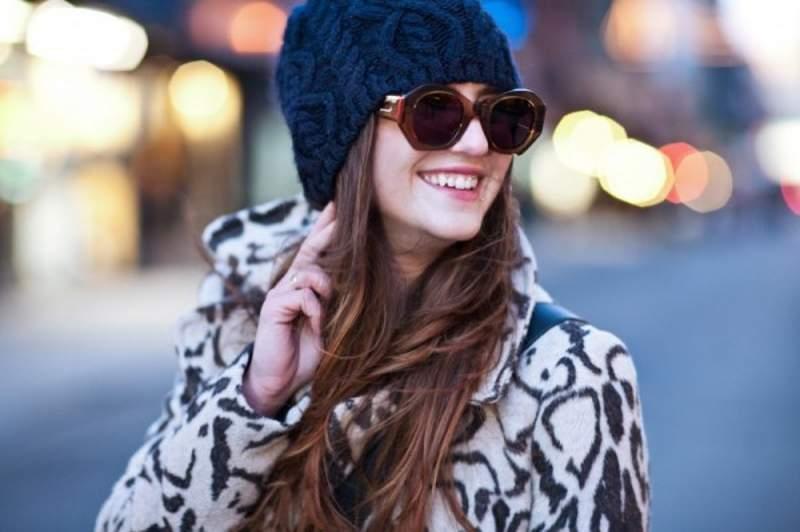 En invierno gafas de sol - Portada