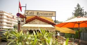 Photo extérieur restaurant niçois la gaité nallino