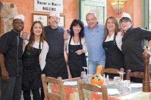 photo équipe restaurant la gaité nallino