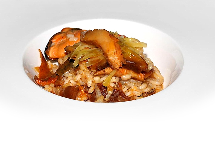 arroz con niscalos