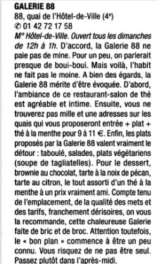 """Guide Petit Futé """"Paris Dimanche"""" 2/2"""