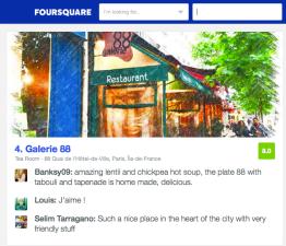 FOURSQUARE BEST PLACES FOR LENTILS IN PARIS OPINIONS