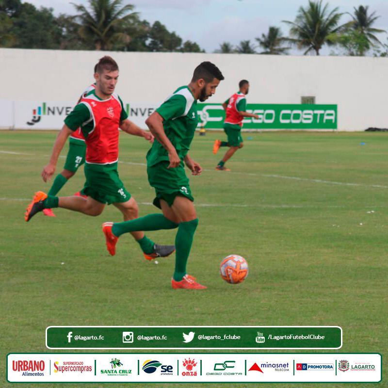 1e89f444d Lagarto Futebol Clube começa 2019 treinando pesado - Portal  Lagartense.com.br