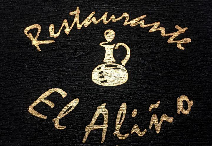Logo Carta Restaurante El Aliño
