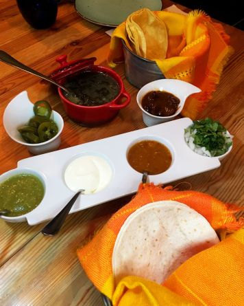 Queso Huitlacoche Tacos No Q No Gastrobar Barajas
