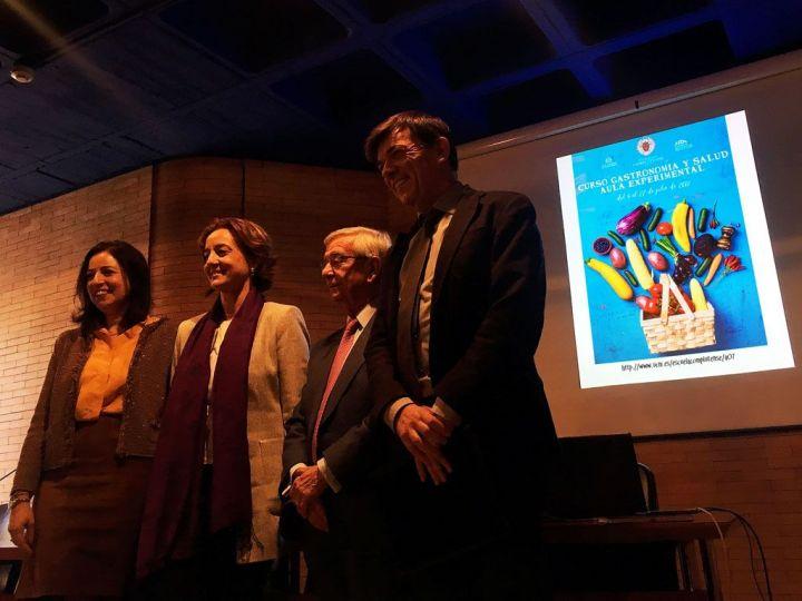 Autoridades-Rafael-Anson-Gastronomia-y-Salud-Rector-UCM-ECV