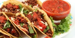 Tacos, gastronomia mexicana
