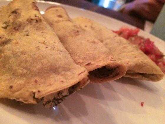 Quesadillas con huitlacoche