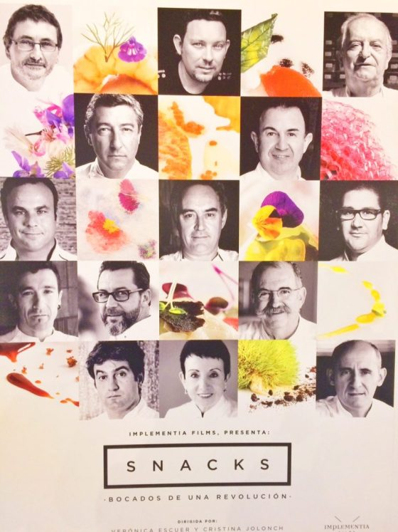 snacks documental, gastronomia españa, ferran adria, celler de can roca