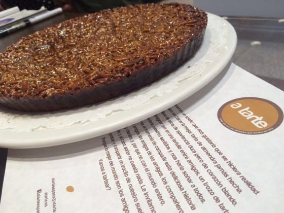 tartas, postres, recomendaciones gastronomicas, tarta de almendra
