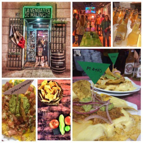 cena de empresa, cena de grupo en navidad, cena de navidad, donde cenar en madrid, menu de navidad, restaurantes madrid, la venganza del malinche, restaurantes mexicanos madrid