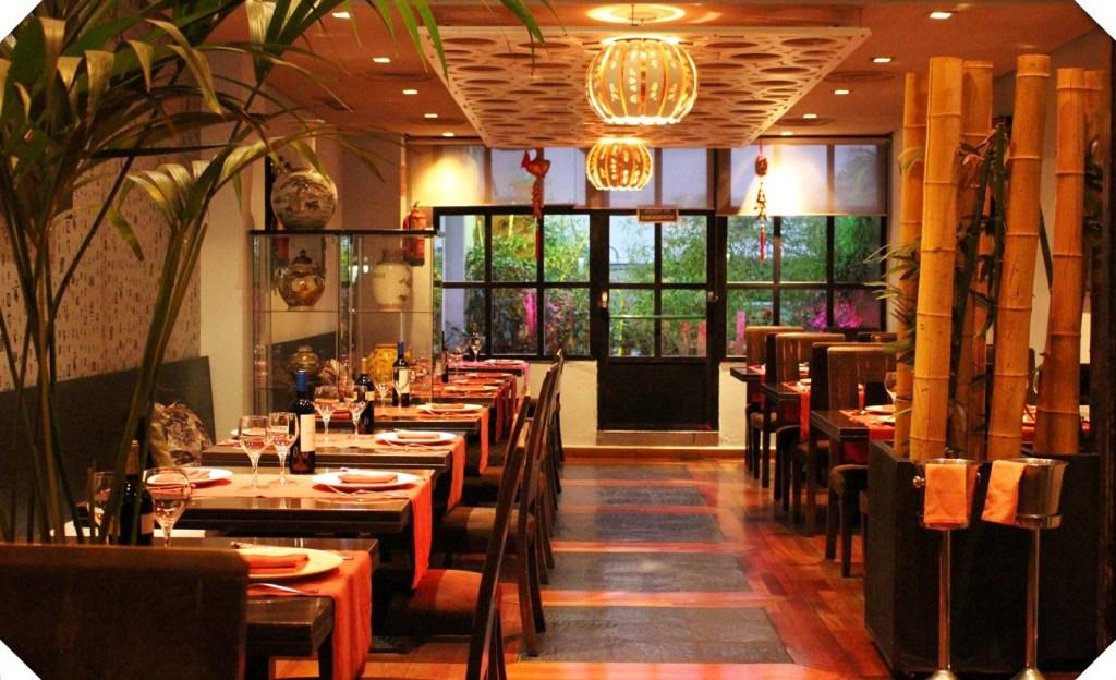 salon restaurante kzen, restaurantes románticos