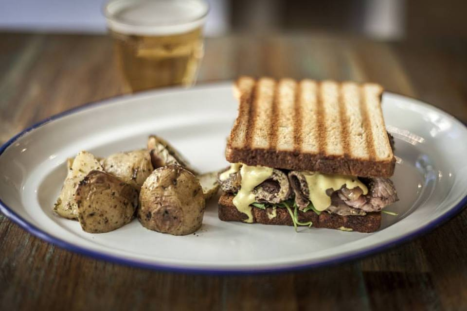 Sandwich El Azul de Fúcar, restaurantes románticos